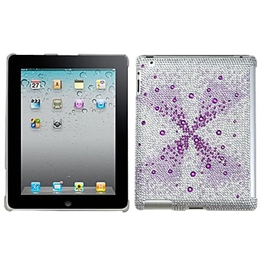 Insten® Diamante SmartSlim Back Protector Cover For iPad 2/3/4, Purple Singularity Gem Gradients