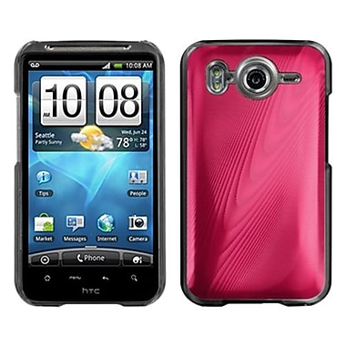 Insten® Back Protector Cover For HTC Inspire 4G, Red Cosmo