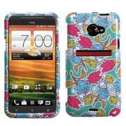 Insten® Protector Case For HTC EVO 4G LTE, Rose Garden