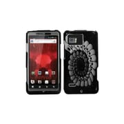 Insten® Protector Case For Motorola XT875 Droid Bionic, Round Skull