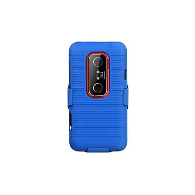 Insten Hybrid Holster For HTC EVO 3D/EVO V 4G, Blue (1017721)