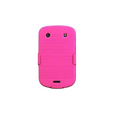 Insten® Rubberized Hybrid Holsters For BlackBerry 9930/9900