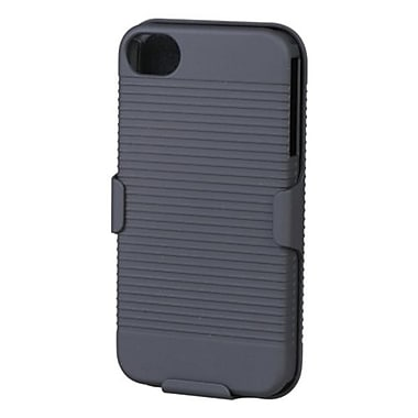 Insten® Hybrid Rubberized Holsters F/iPhone 4/4S