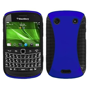 Insten Phone Protector Cover For BlackBerry 9900/9930, Dark Blue/Black Mixy (1017770)