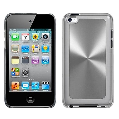 Insten Cosmo Back Protector Cover For iPod Touch 4th Gen, Silver (1018061)