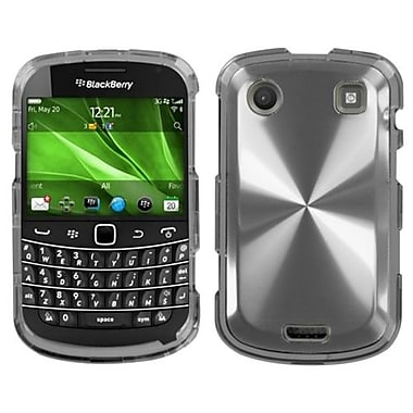 Insten® Protector Case For BlackBerry 9930, Silver Cosmo