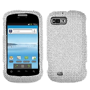 Insten Diamante Protector Cover For ZTE N850 Fury, Silver (1018119)