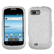 Insten® Diamante Protector Cover For ZTE N850 Fury, Silver