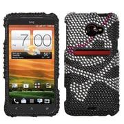 Insten® Diamante Protector Case For HTC EVO 4G LTE, Skull