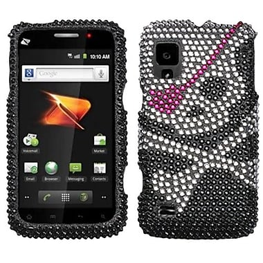 Insten Diamante Protector Case For ZTE N860 Warp, Skull (1018228)