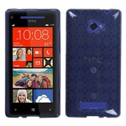 Insten® Argyle Flexible Protector Case For HTC Windows Phone 8X, Smoke