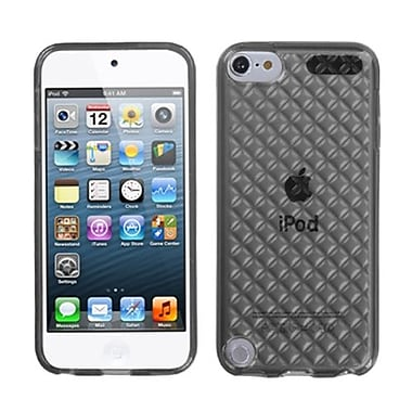 Insten® Diamond Candy Skin Cover For iPod Touch 5th Gen, Smoke