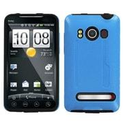 Insten® Faceplate Case For HTC EVO 4G, Baby Blue/Black