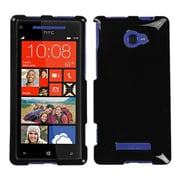 Insten® Protector Cover For HTC Windows Phone 8X, Solid Black