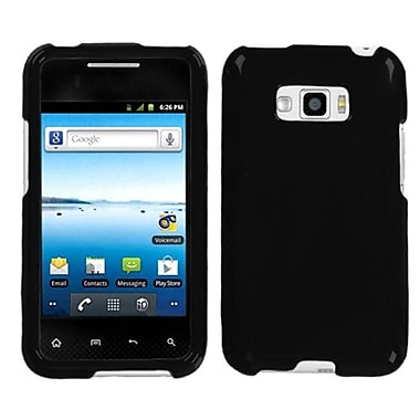 Insten Protector Case For LG LS696 Optimus Elite/VM696 Optimus Elite, Solid Black (1018370)