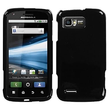 Insten® Protector Case For Motorola MB865 Atrix 2, Solid Black