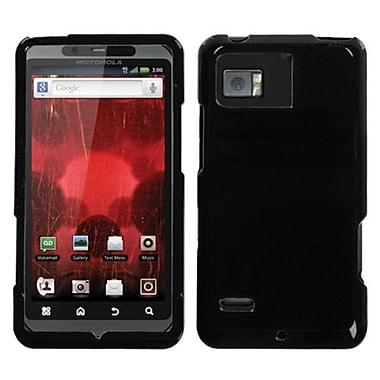 Insten Protector Case For Motorola XT875 Droid Bionic, Solid Black (1018383)