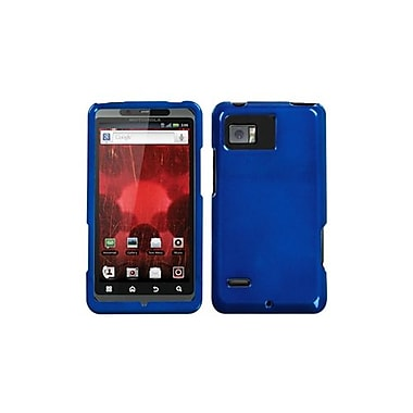Insten® Protector Case For Motorola XT875 Droid Bionic, Solid Dark Blue
