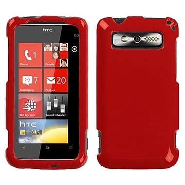 Insten® Protector Cover For HTC Trophy, Solid Flaming Red