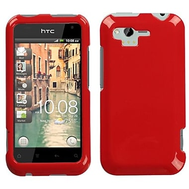 Insten® Faceplate Case For HTC ADR6330 Rhyme, Solid Flaming Red