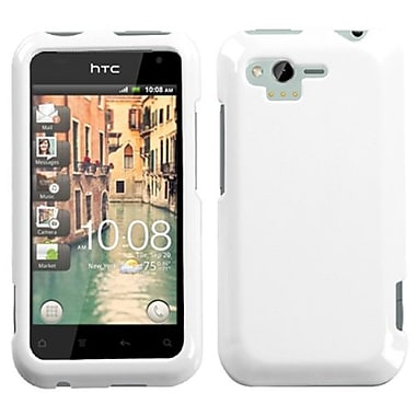 Insten® Protector Case For HTC ADR6330 Rhyme, Solid Ivory White