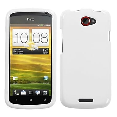 Insten® Protector Case For HTC-One S, Solid Ivory White