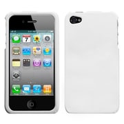 Insten® Phone Protector Cover F/iPhone 4/4S, Solid Ivory White