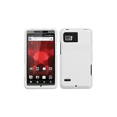 Insten® Protector Case For Motorola XT875 Droid Bionic, Solid Ivory White