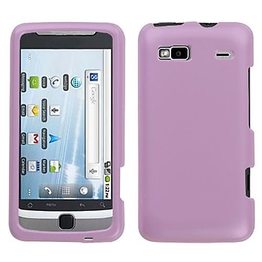 Insten® Protector Case For HTC G2/Vision, Solid Pearl Violet