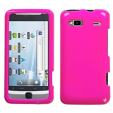 Insten® Protector Case For HTC G2/Vision, Solid Shocking Pink