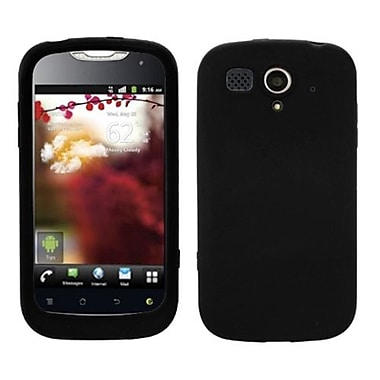 Insten® Solid Skin Cover For Huawei U8680 myTouch, Black
