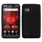 Insten® Skin Cover For Motorola XT875 Droid Bionic, Solid Black
