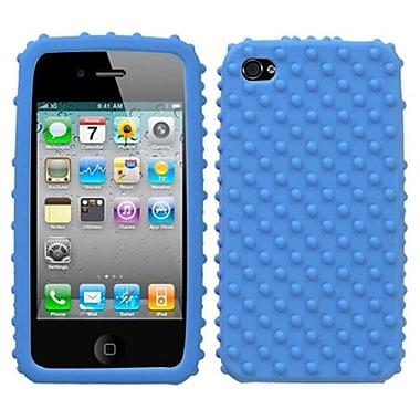 Insten ? Étui protecteur rigide pour iPhone 4/4s, pois bleu foncé (1018714)