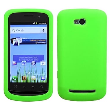 Insten® Skin Cover For Coolpad 5860E Quattro 4G, Solid Electric Green