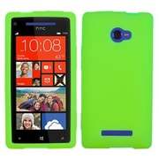 Insten® Skin Case For HTC Windows Phone 8X, Solid Electric Green