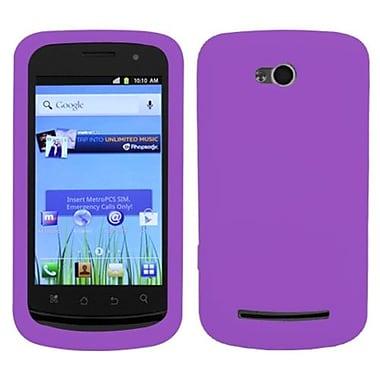 Insten® Skin Cover For Coolpad 5860E Quattro 4G, Solid Electric Purple