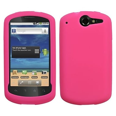 Insten® Solid Skin Cover For Huawei U8800 Impulse 4G, Hot-Pink
