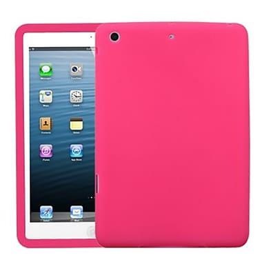 Insten® Solid Skin Cover For iPad Mini/iPad Mini 2, Hot-Pink