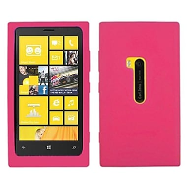 Insten® Skin Case For Nokia 920 Lumia, Solid Hot-Pink