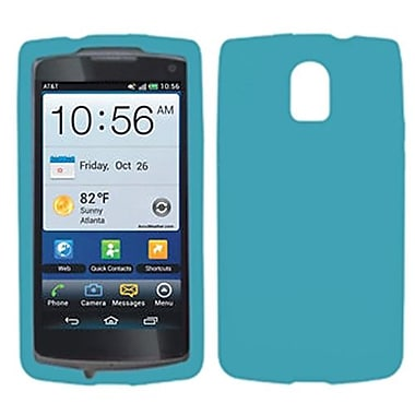 Insten® Skin Cover For Pantech P9090 Magnus, Solid Tropical Teal