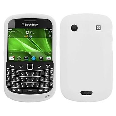 Insten® Solid Skin Cover For BlackBerry 9930/9900, Translucent White