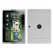 Insten® Solid Skin Cover For BlackBerry Playbook, Translucent White