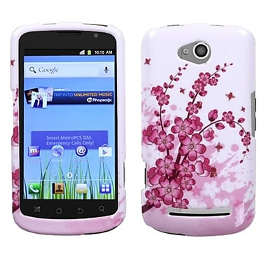 Insten® Protector Case For Coolpad 5860E Quattro 4G, Spring Flowers