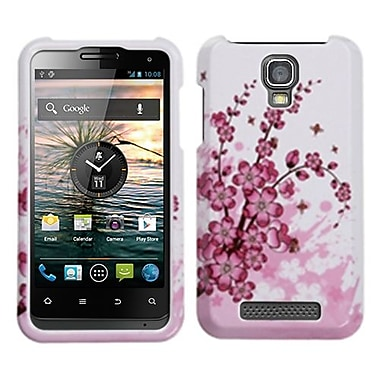 Insten® Protector Cover For ZTE V8000 Engage, Spring Flowers
