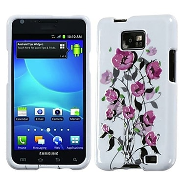 Insten® Faceplate Case For Samsung I777 Galaxy S2 AT&T, Spring Season Sense