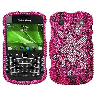 Insten Diamante Protector Cover For BlackBerry 9930/9900, Tasteful Flowers (1019186)