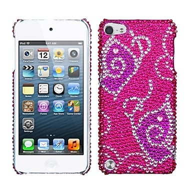 Insten Diamante Back Protector Cover For iPod Touch 5th Gen, Tattoo Butterfly (1019202)