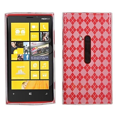 Insten® Argyle Candy Skin Cover For Nokia Lumia 920, T-Clear