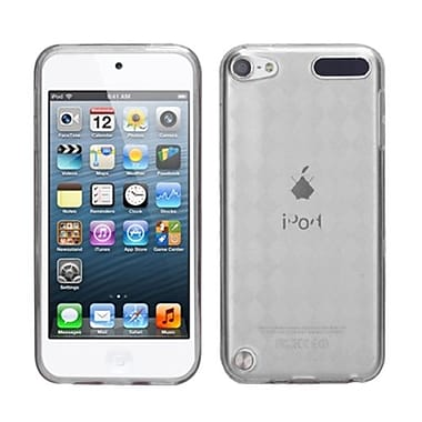 Insten Argyle Pane Candy Skin Cover For iPod Touch 5th Gen, T-Clear (1019247)