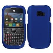 Insten® Rubber Coated Plastic Phone Case For Huawei M636 Pinnacle 2, Titanium Blue